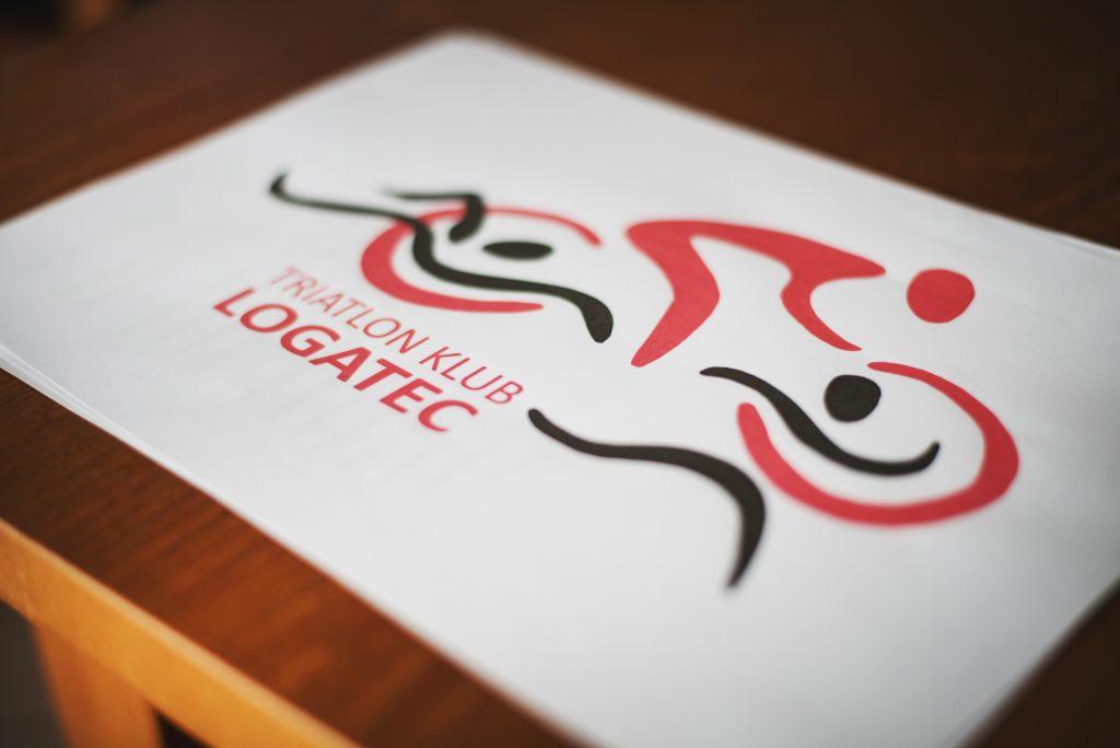 Znak in logotip kluba Triatlon kluba Logatec