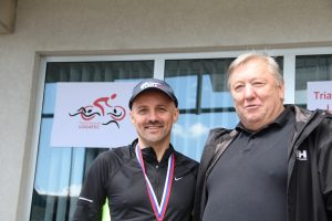 predsednik TK Logatec in župan občine Logatec Berto Menard